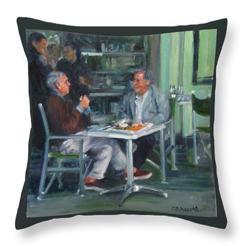 The Professors Throw Pillow