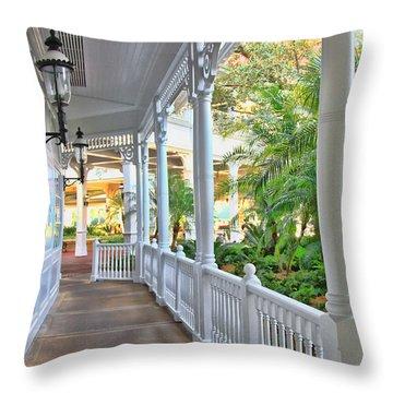 The Promenade Throw Pillow