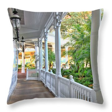 The Promenade Throw Pillow