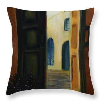 The Promise Throw Pillow by David Kacey