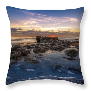 The Promise Throw Pillow by Debra and Dave Vanderlaan