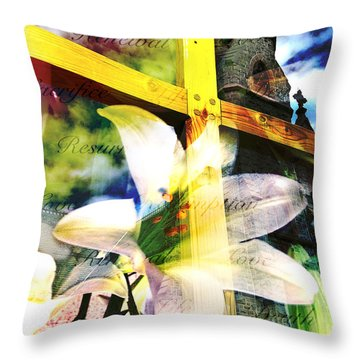 Throw Pillow featuring the photograph The Promise by Eleanor Abramson