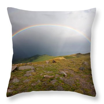 Throw Pillow featuring the photograph The Promise by Jim Garrison