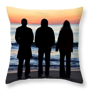 The Promise Of A New Day Throw Pillow