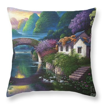 The Promise Of Spring Throw Pillow
