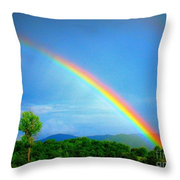 The Promise Throw Pillow by Patti Whitten