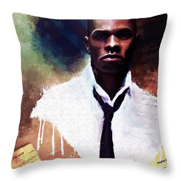 The Psalmist Throw Pillow