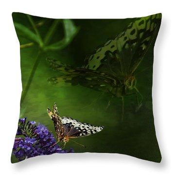 The Psyche Throw Pillow