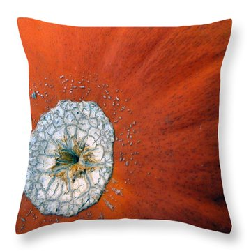 Throw Pillow featuring the photograph The Pumpkin Galaxy by Dorin Adrian Berbier