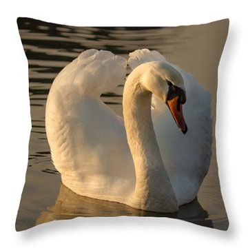 Throw Pillow featuring the photograph The Pure In Heart by Rose-Maries Pictures