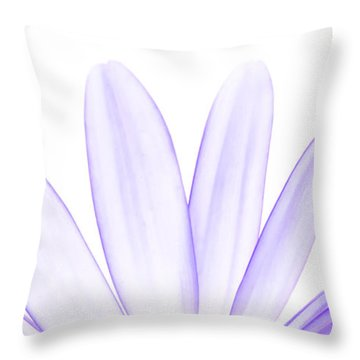 The Purple In Your Soul Throw Pillow