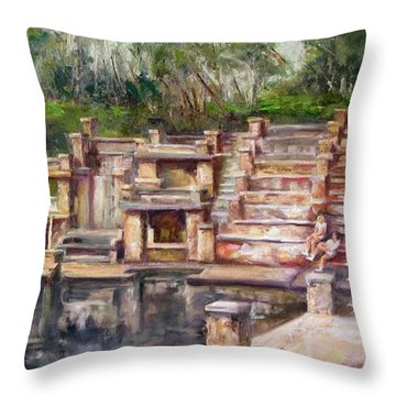 The Pyramid Throw Pillow