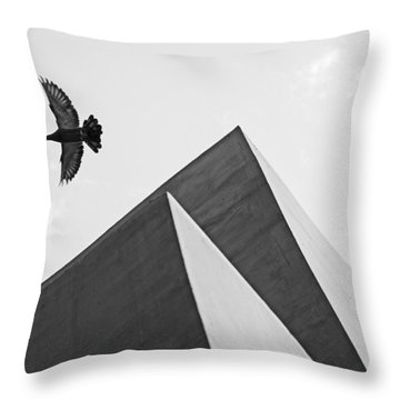 The Pyramids Of Love And Tranquility Throw Pillow