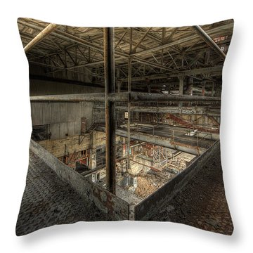 The Quarry - Big Room Throw Pillow