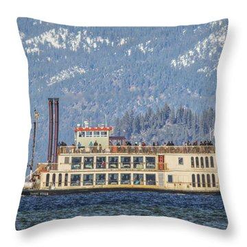 Throw Pillow featuring the photograph The Queen by Mitch Shindelbower