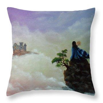 The Queen's Venture Throw Pillow