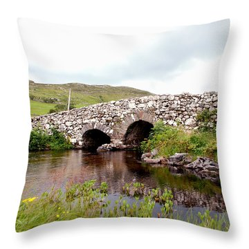 The Quiet Man Bridge Throw Pillow