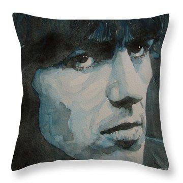George Harrison Throw Pillows