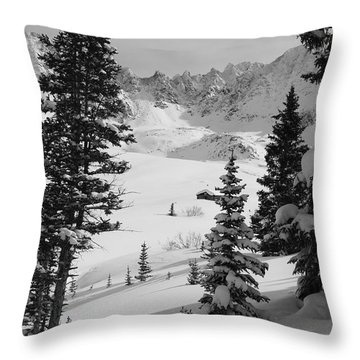 The Quiet Season Throw Pillow