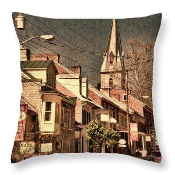 The Quintessential Semiquincentennial - Shepherdstown Wv  Throw Pillow