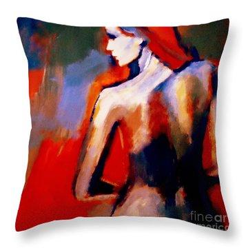 The Radical Lack Throw Pillow by Helena Wierzbicki