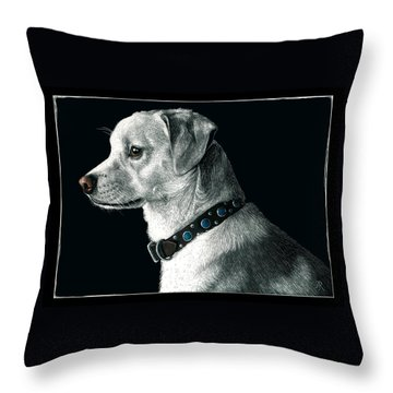 The Ratter Throw Pillow