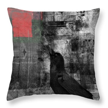 The Raven - Nevermore Throw Pillow