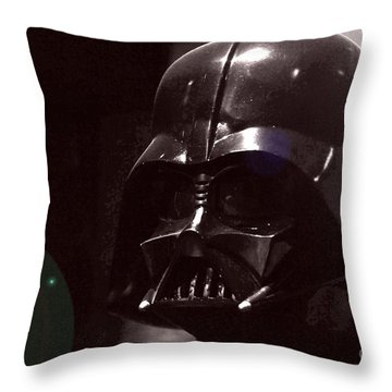 the Real Darth Vader Throw Pillow