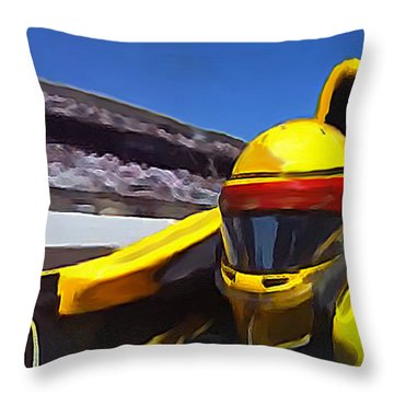 The Real Pause That Refreshes Throw Pillow