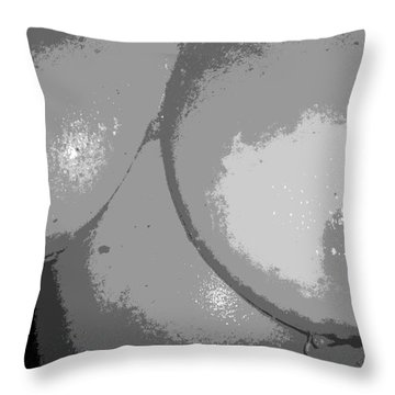 Gray Throw Pillow by Alys Caviness-Gober