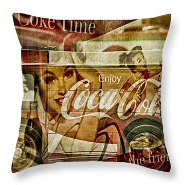 The Real Thing Throw Pillow by Susan Candelario