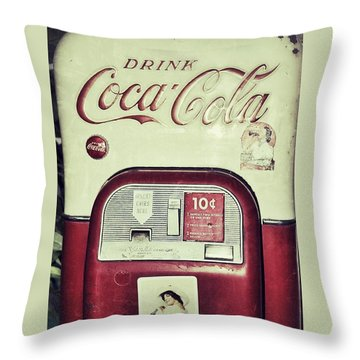 The Real Thing Throw Pillow