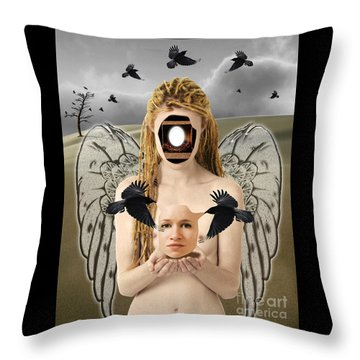 The Rebirth Throw Pillow by Keith Dillon