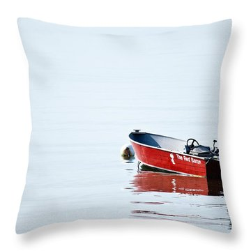 The Red Baron Throw Pillow by Karol Livote