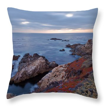 Throw Pillow featuring the photograph The Red Carpet by Jonathan Nguyen
