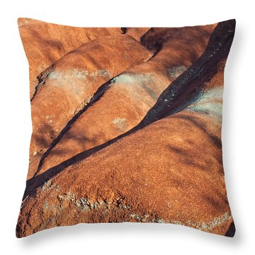 The Red Planet Throw Pillow by Barbara McMahon