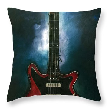 The Red Special Throw Pillow