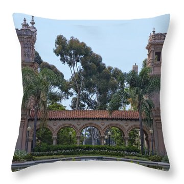 The Reflection Pool Throw Pillow