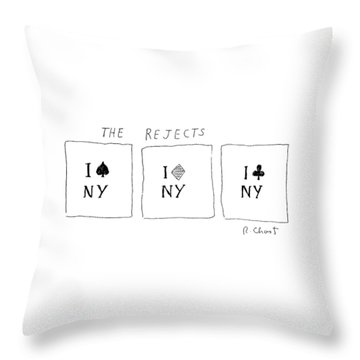 The Rejects Throw Pillow