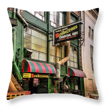 The Rendezvous Throw Pillow