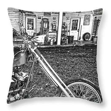 Throw Pillow featuring the photograph The Rest   by Lesa Fine