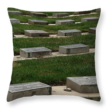 The Resting Place Throw Pillow by Peter Piatt