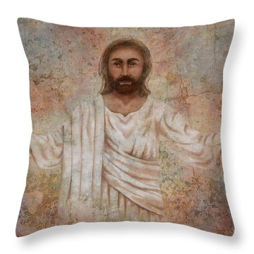 The Resurrection And The Life Throw Pillow