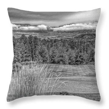 Throw Pillow featuring the photograph The Ridge 18th by Ron White