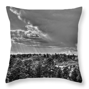 Throw Pillow featuring the photograph The Ridge Golf Course by Ron White