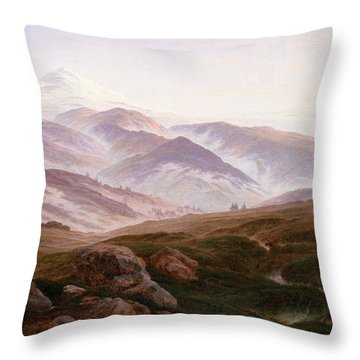 The Riesengebirge  Throw Pillow by Philip Ralley