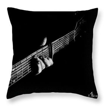 The Right Chord Throw Pillow