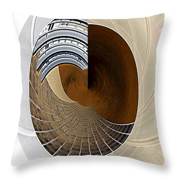 The Right Side Of My Left Brain Throw Pillow