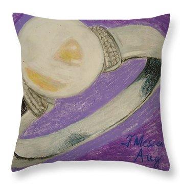 The Ring Throw Pillow by Fladelita Messerli-