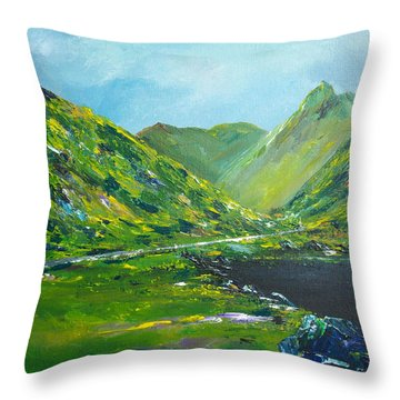 The Ring Of Kerry Throw Pillow